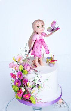 Little Rapunzel by Evgenia Vinokurova