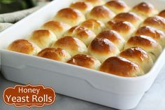 White Lily Flour - Honey Yeast Rolls