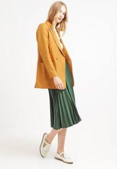 Topshop - Falda plisada - darkgreen