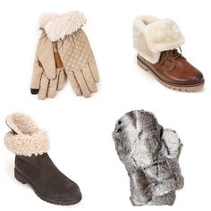 Check out our Warm and Fuzzy Collection on simonsshoes.com #shopping #fashion #boots #shoes #instashoes #warm #fuzzy #winter #shearling #gloves #mittens #accessories