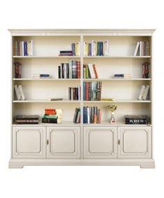 Regalwand Mit Beweglichen Einlegeböden Made In Italy Www Frankmoebel Bookcaseivoryproductsshelvesbookcasesbookshelvesshell