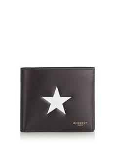 Star-print leather wallet | Givenchy | MATCHESFASHION.COM UK