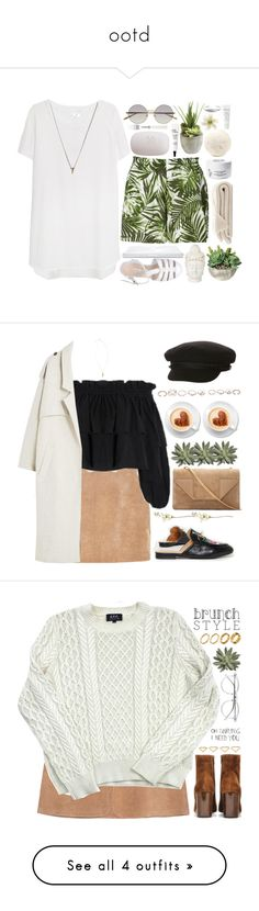 """ootd"" by ayuji ❤ liked on Polyvore featuring Linda Farrow, by TiMo, Combo, Ethan Allen, Clips, Diptyque, philosophy, Natio, Nadine S and The Body Shop"
