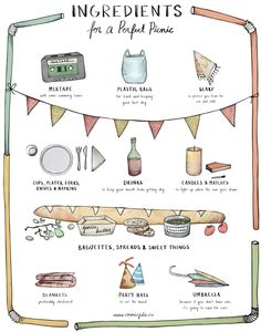 Planning a summer #picnic