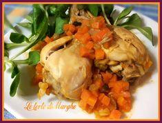 Fusi di pollo con verdure in padella, un piatto veloce da preparare. Un piatto molto gustoso che piacerà a tutti i vostri ospiti...........................