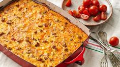 Try a new twist on the all-time favorite egg bake; this dish adds some fabulous Mexican flavor, sure to be a hit at your next gathering.