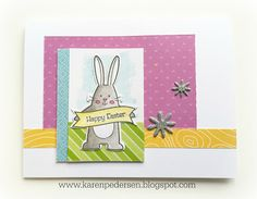 Karen Pedersen: April Play Group Scrappin' and/or Card Class Layouts and Cards (Penelope)