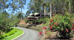 This lookout in the Botanic Gardens provides great views of the city