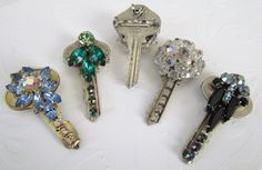 My Salvaged Treasures: Rescued and Repurposed Keys