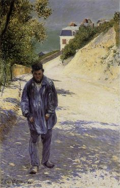 Claude Monet paseando,1884