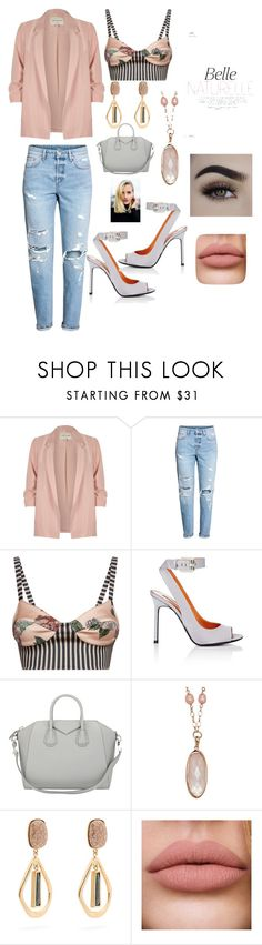 """""""Untitled #355"""" by ericap61720 ❤ liked on Polyvore featuring River Island, H&M, La Perla, Walter De Silva, Givenchy, Honora and Isabel Marant"""