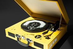 """Third Man Records """"Manny's Childrens Turntable"""" with built in speakers, USB port, and more!"""