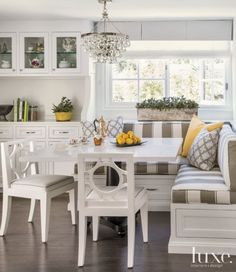 25 Spaces With Industrial Influences And Decor Kitchen Banquette IdeasCorner Dinning TableKitchen