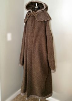 Men's Capote Coat | XXL 52-56 | Hooded Blanket | European Wool | MADE in USA | by  #JewelsForThePauper on Etsy