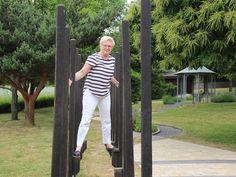 Stelzenlauf Park, Outdoor Structures, Stone Path, Children Playground, Paving Stones, Parks