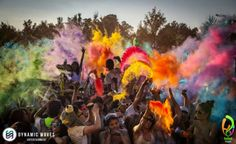Holi Festival Of Colours Merida, Holi Festival Of Colours, Picture Video, Calendar, Pictures, Painting, Mood, Art, Videos