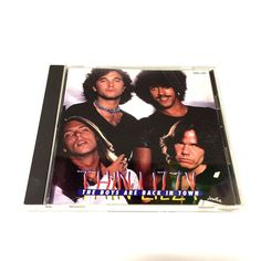 Thin Lizzy The Boys are Back in Town Audio Music CD CRCL-7001 Japan Import