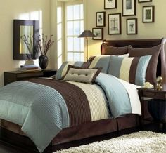 Blue and Brown Bedroom Ideas - This is a great and easy to follow bedroom decorating ideas for you and family. bedroom decorating are the one...
