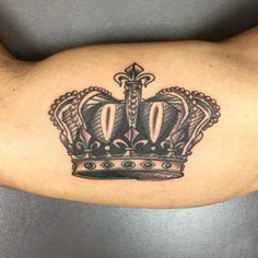 Black+and+Gray+Ink+Crown+by+Luca+Testadiferro