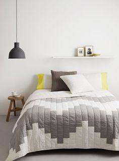 decoratualma, bedroom styling, muuto, cushions, plaid