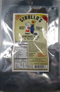 Discover how Strollo's - Hot Garlic beef jerky fared in a jerky review. http://jerkyingredients.com/2015/06/23/strollos-hot-garlic-beef-jerky-recipe-2/ #strollos #beefjerky #review #food #jerky #ingredients #jerkyingredients #jerkyreview #beef #paleo #paleofood #snack #protein #snackfood