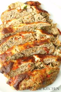A delicious meatloaf made with ground turkey!