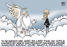 heaven | Gate of Heaven - Steve Jobs Jokes
