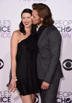 Aww! I love how this is like a thing for them, to always have a pic with him kissing her cheek :) #PCA2015