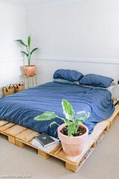 18 Ideias maravilhosas de sofás e camas de paletes | Baú das DICAS