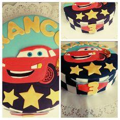 Torta #Rayo #mcqueen #Cars
