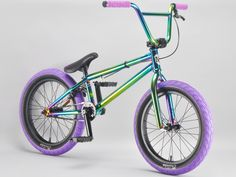 madmain green fuel complete 18 inch BMX bikes