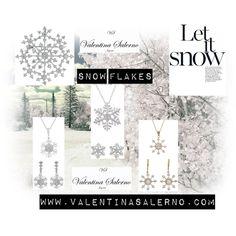 """""""Snow Flakes"""" by valentinasalerno on Polyvore #pendientes #colgantes #brazaletes #regalos #navidad #joyas #joyería #earrings #bracelets #necklaces #jewels #jewelry #jewelry set #snowflakes #snow flake #snow #winter #copo #copodenieve #copo de nieve #regalos #regalosnavidad #regalos de navidad #christmas gifts #christmas #winter #fashion"""