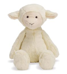 Lovelies - Lindy Lamb Large - New| Manhattan Toy OMG this is a soft adorable little snuggler for baby girl!