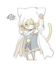 Anime Chibi, Chibi Boy, Neko Boy, Kawaii Chibi, Cute Chibi, Kawaii Anime, Manga Anime, Anime Art, Touken Ranbu