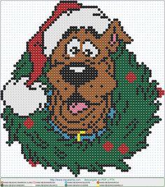 Scooby Doo Christmas EN HAMA BEADS