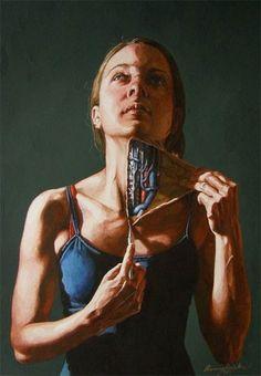 Algumas das obras estão em aquarela - Reprodução/Facebook - Danny Quirk