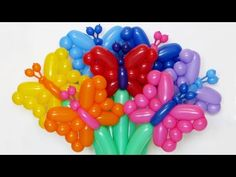 Солдат (голова) в фуражке из шаров / Soldier's head of balloons (Eng subs) - YouTube