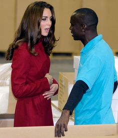 November 2011      A royal pregnancy already? She spurred worldwide speculation at Copenhagen's UNICEF distribution center when she refused peanut paste (pregnant women are urged to shun peanut products to avoid the development of allergies in newborns) and clutched her belly protectively.