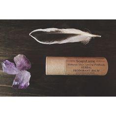 DEODORANT herbal deodorant tube vegan deodorant by SoapyLayne, $12.00