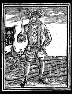 bartholomew roberts, black bart, pirate, history