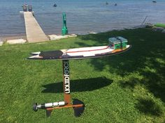 Diy Electric Hydrofoil Board Design Boats In 2019