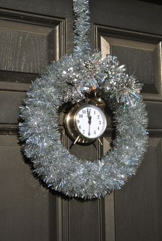 new years wreath tutorial