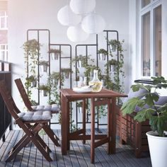 Socker plant stand from IKEA
