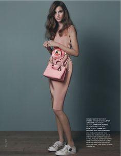 Pauline Hoarau by Damon Heath for Elle France, August 2013