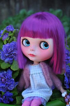 Awww... She want to come and live with me!  OOAK Custom Blythe Doll - MAGNOLIA - Customized by Zuzana D.