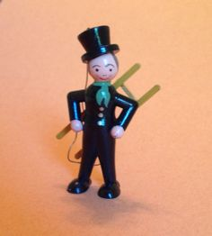 Vintage Chimney sweep New Years ornament