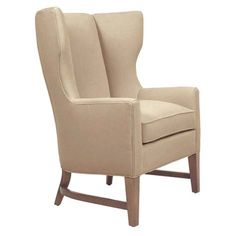 Keystone Wing Chair | Customizable Upholstered Furniture