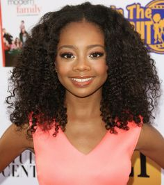 Disney Channel star Skai Jackson is growing up to be a beautiful young lady