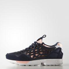 adidas ZX Flux Lace Shoes - Blue   adidas US