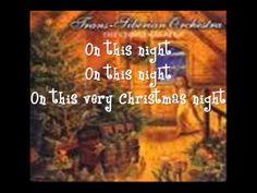 Christmas Canon- Lyrics (ONSCREEN!)